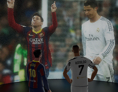 Messi and Cristiano meet again