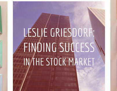 Leslie Griesdorf: Finding Success in the Stock Market