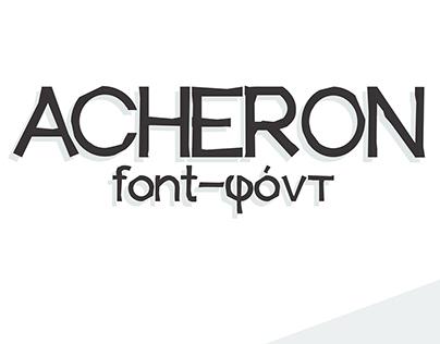 ACHERON Font