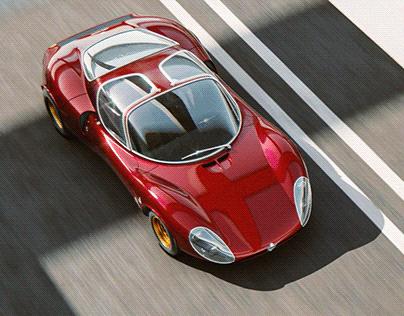 Alfa Romeo Tipo 33 - Full CGI