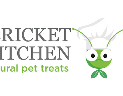 Brand and Packaging for Cricket Kitchen Dog Treats