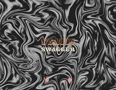 Vinyl Cover Design: Static Swagger for Vinyl Moon