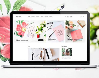 IBlogger   Wordpress Theme   Blog