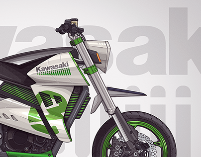 Kawasaki - E horizon - electric motorcycle concept