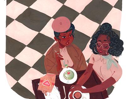 Café girls