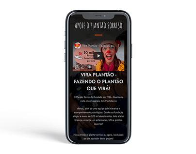 Website Plantão Sorriso