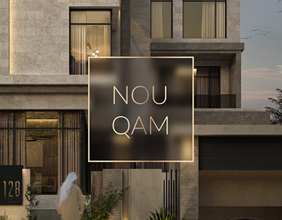 Design-concept for construction company NOU QAM