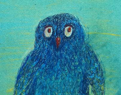 Miiha the Owl. Character and Story Design.