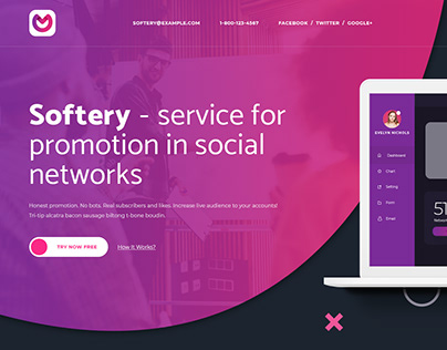 Softery 2 - Service website