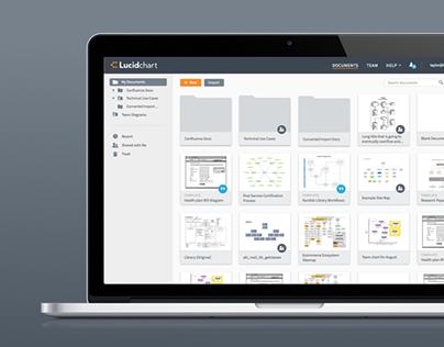 Lucidchart Documents Redesign