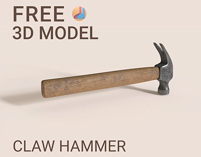 FREE 3D model. Claw Hammer