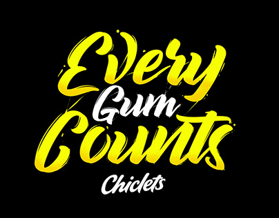 Chiclets / Every Gum Counts