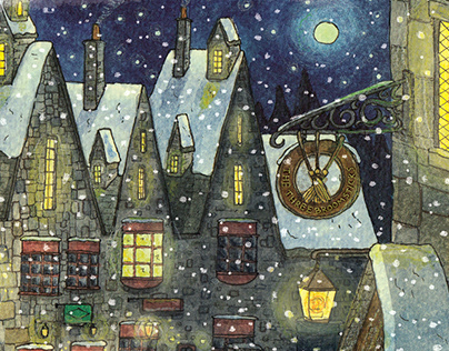 Harry Potter Christmas Scenes