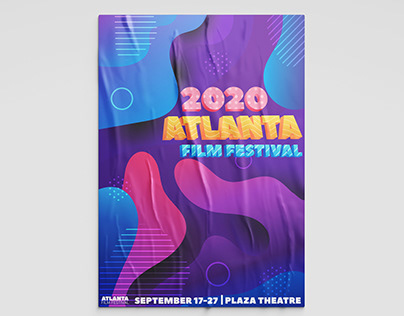 Atlanta Film Festival Design Project