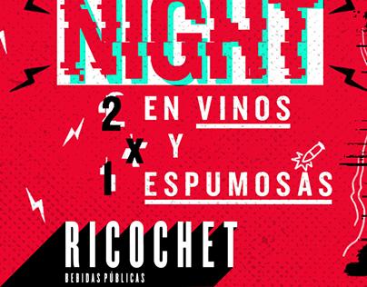 Propuesta Gráfica - Redes Sociales Bar Ricochet