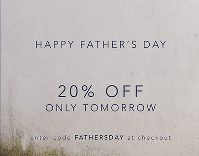 HAPPY FATHER'S DAY PROMO | GRACE BABY&CHILD