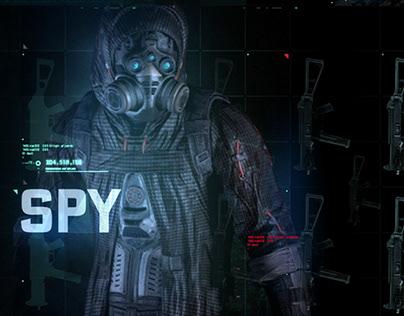 Splinter Cell Blacklist - UI