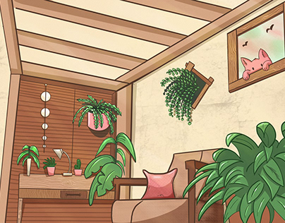 Cozy inner garden