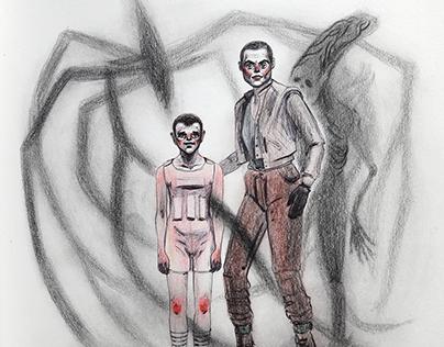 Drawlloween - Ripley with Eleven