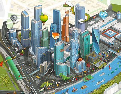The Amazing Moscow International Business Center