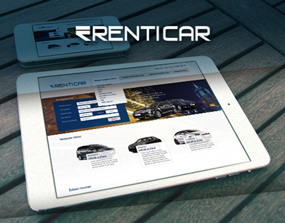 Rent a car - Responsive Web Design