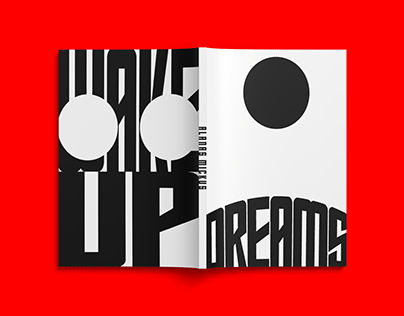 Dreaming / typography book