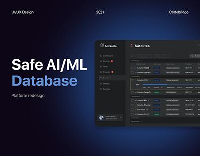 Safe AI/ML Database system