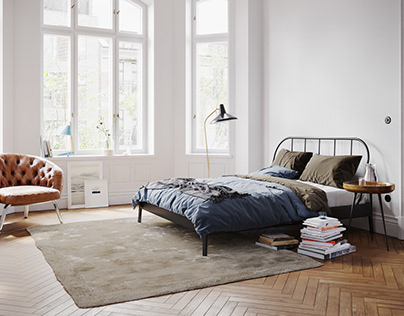 Bedrooms CGI