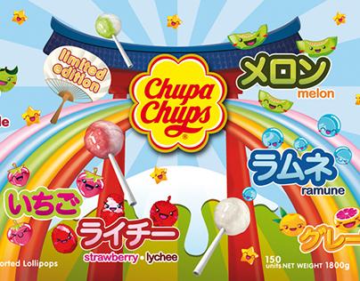 Chupa Chups Japanese Flavours Packaging
