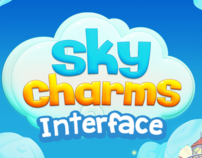 Sky Charms game GUI