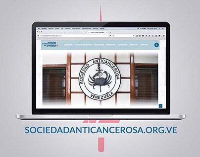 Sociedad Anticancerosa de Venezuela Web