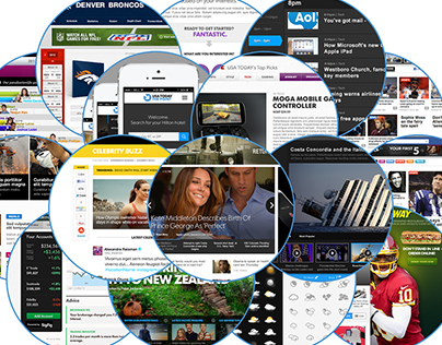 USA Today Relaunch & Projects