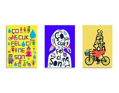 """2019 Rotary """"Çocuk Felcine Son"""" afiş tasarım yarışması"""
