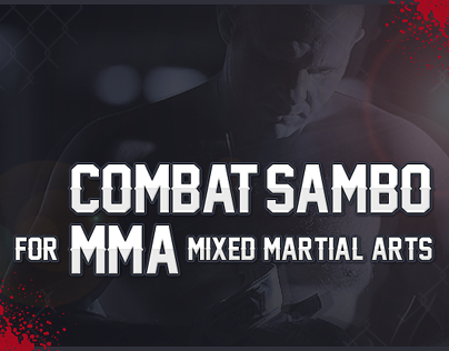 COMBAT SAMBO for MMA - Facebook cover & visual identity