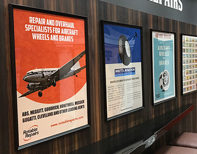 Exhibition Stand & Poster Graphics for Rotable Repairs