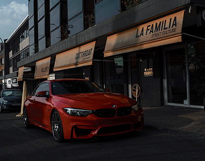 Photography: Red BMW M4
