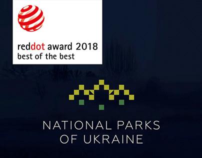 National Parks of Ukraine dynamic brand identity