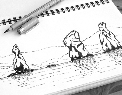Sketches from Kamchatka