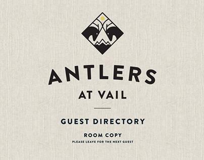 Antlers Vail logo re-design