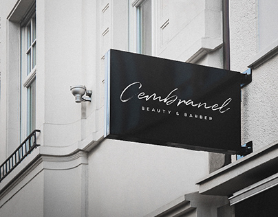 Cembranel Beauty & Barber - Identidade Visual.