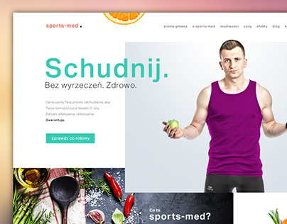 Sports-med - dietician web & prints