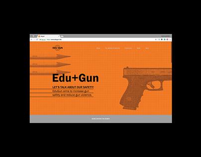 Gun Safety Education: EduGun (MFA Thesis Project)
