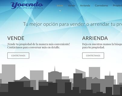 Sitio web 2.0 de Yovendo Propiedades.