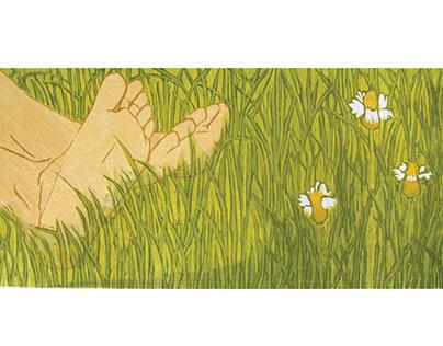 Senses-I | woodcut prints