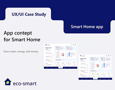 UX/UI Case study - Smart Home App