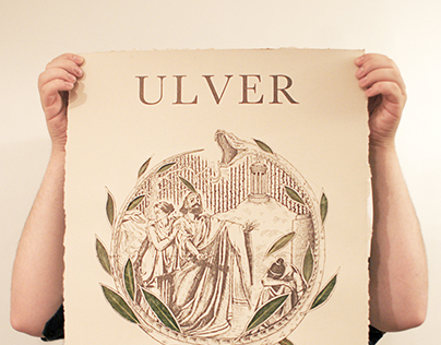 Ulver bay leaves poster