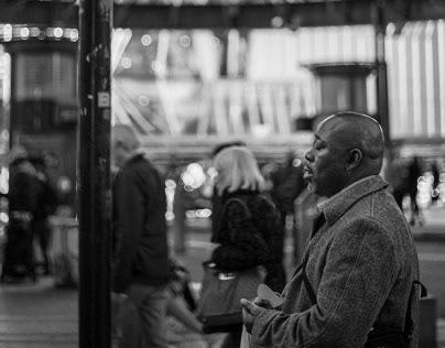 leica photographer / praying man in strassburg