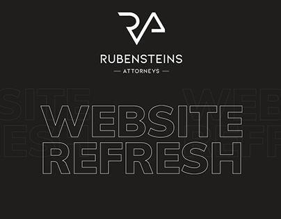 Rubensteins Attorneys Website Refresh