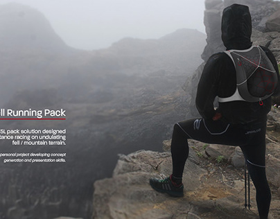 Flux 15L Trail running Pack Concept