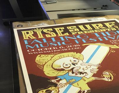 Falling Tide Music Festival 2018 Poster